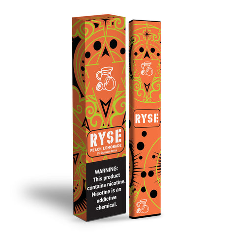 Ryse Bar Disposable - Peach Lemonade