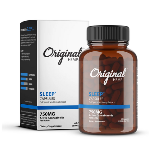 Original Hemp Capsules 750mg - Sleep