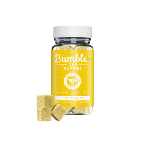 Bumble CBD Gummies 1000mg - Citrus Twist