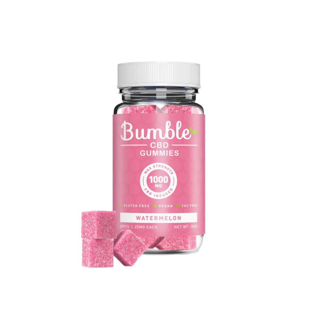 Bumble CBD Gummies 1000mg - Watermelon