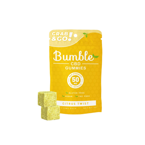 Bumble CBD Gummies 50mg - Citrus Twist