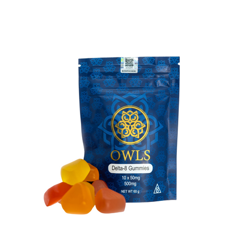 Owls Delta 8 Gummies 500mg