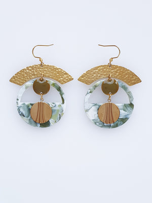 Chariot Earrings - various colours