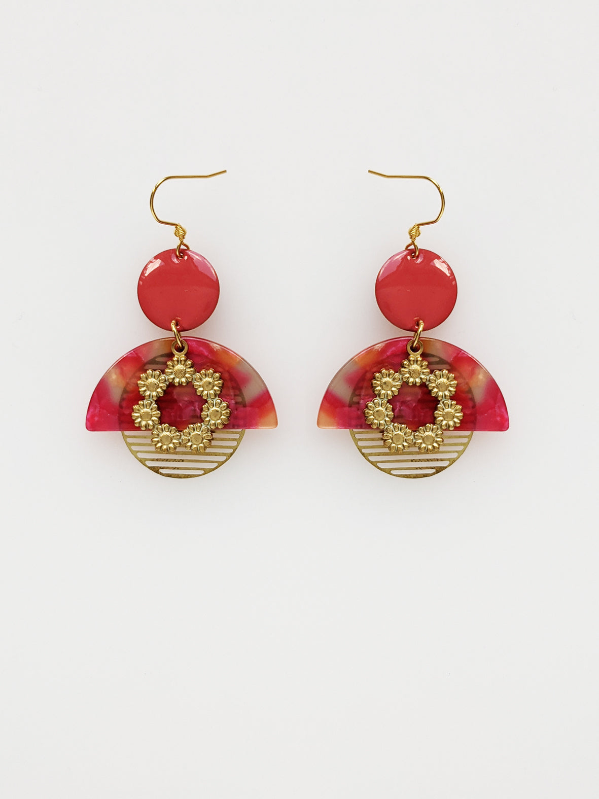 Corsage Earrings - various colours