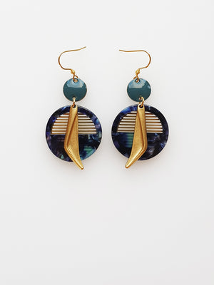 Sailor Earrings - various colours