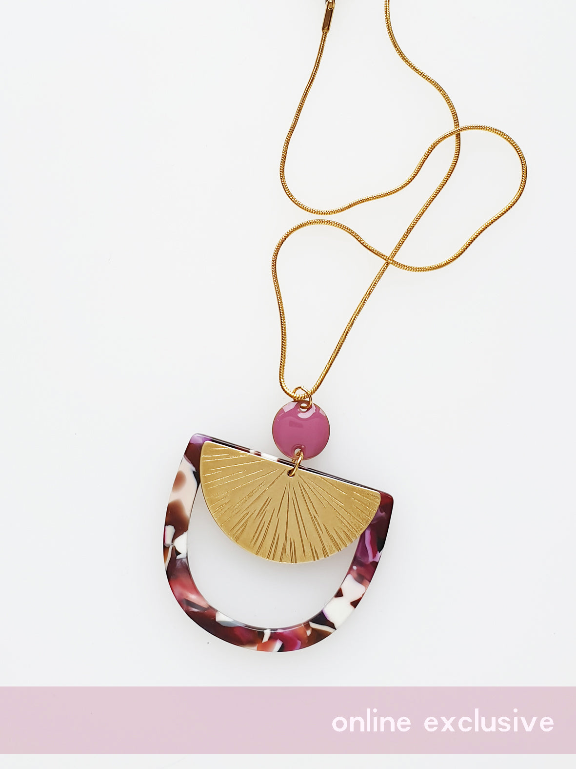 Sunseeker Necklace - various colours