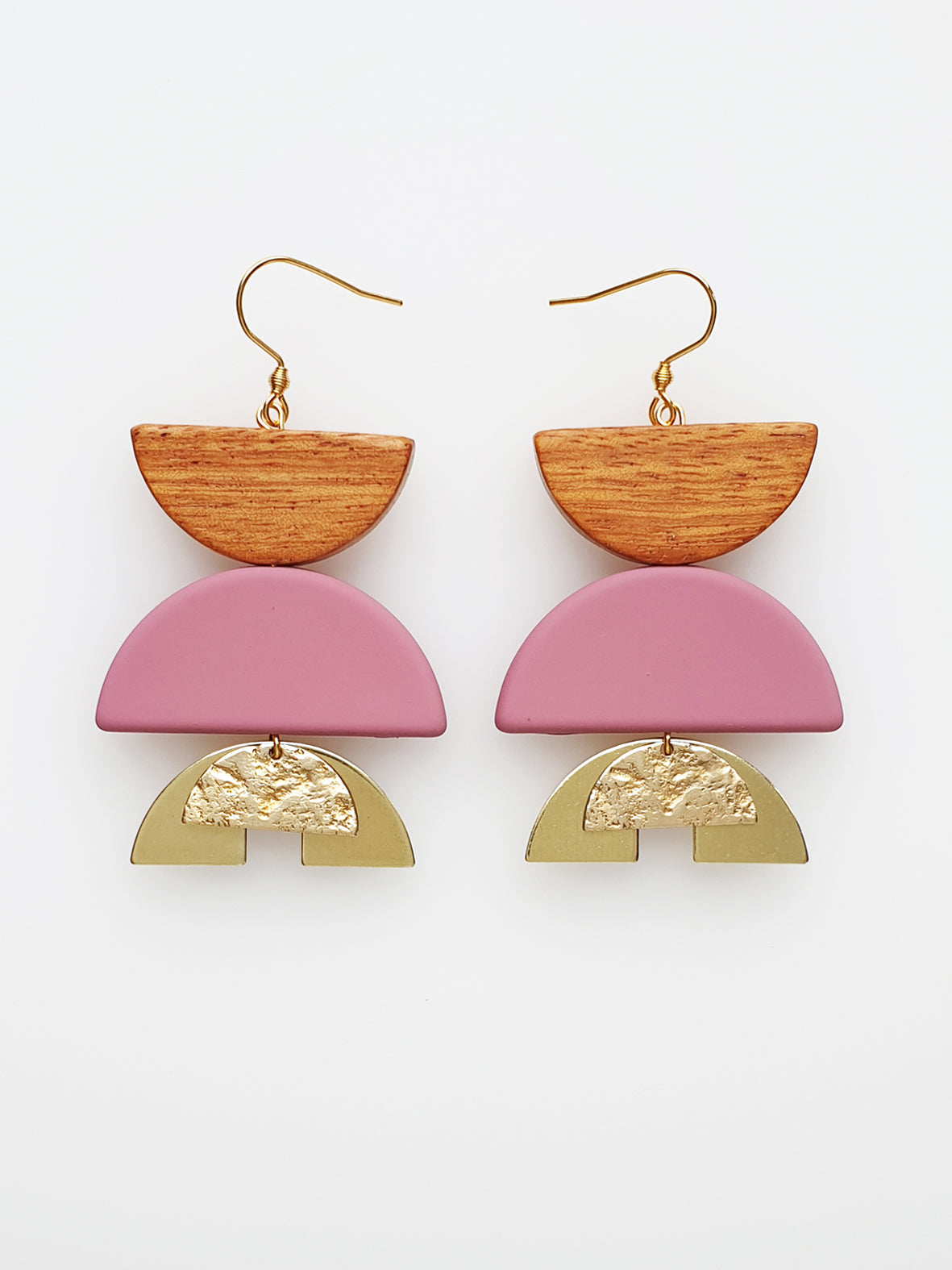 Warrior Earrings - various colours