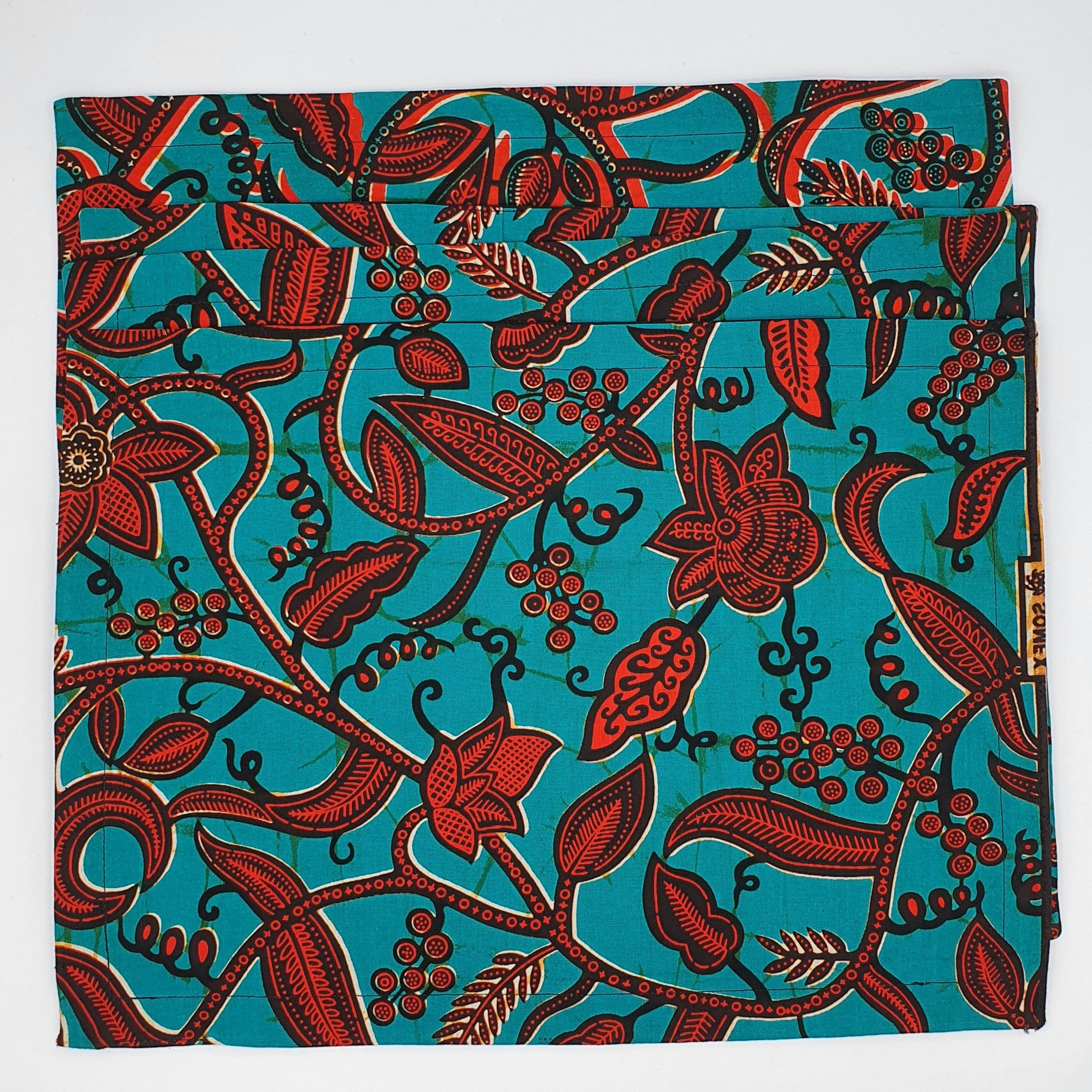 KG Design Kitenge Placemats (Set of 4)