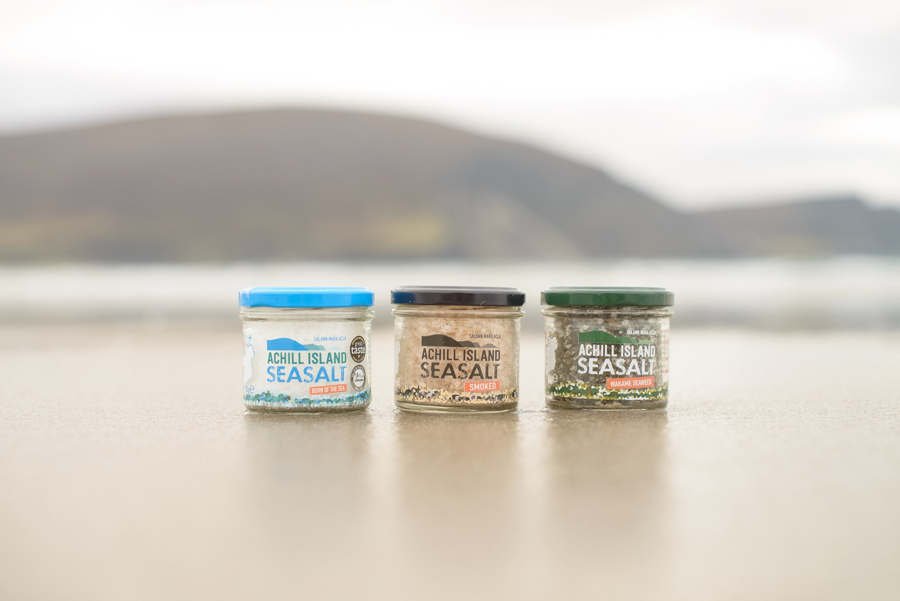 Achill Island Smoked Sea Salt - MIMI+MARTHA