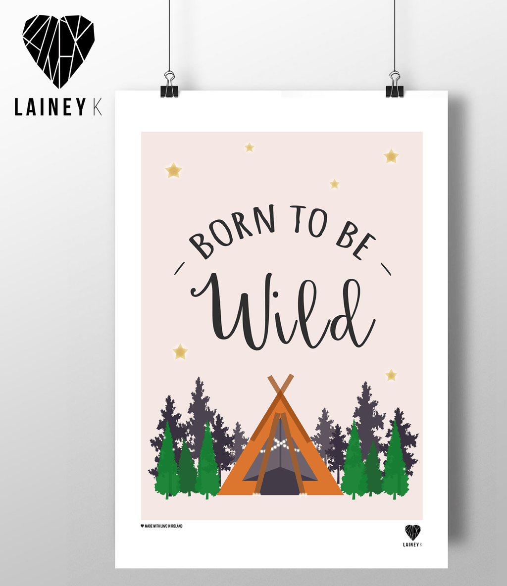 (A4 Print) Born To Be Wild - MIMI+MARTHA