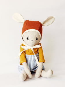 Handmade Doll - Bruno Big Bunny - MIMI+MARTHA