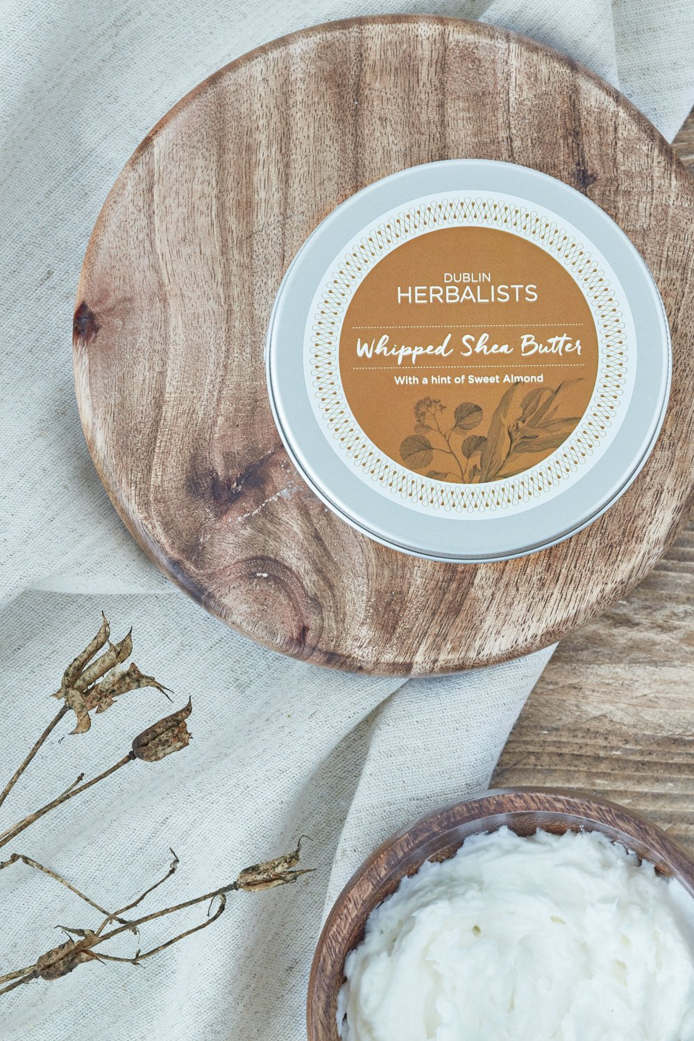 Dublin Herbalist - Whipped Shea Butter With A Hint Of Sweet Almond Oil - MIMI+MARTHA