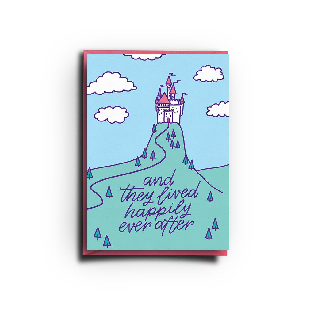 And They Lived Happily Ever After (Greeting Card) - MIMI+MARTHA