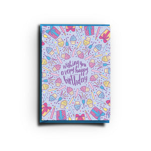 Wishing You A Very Happy Birthday Card (Greeting Card)