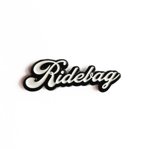 Ridebag Hate Hearts Pin Badge