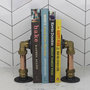 Copper Book Ends