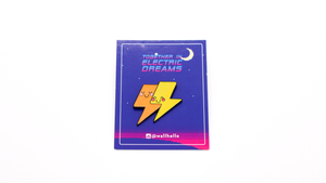 Together In Electric Dreams Pin Badge