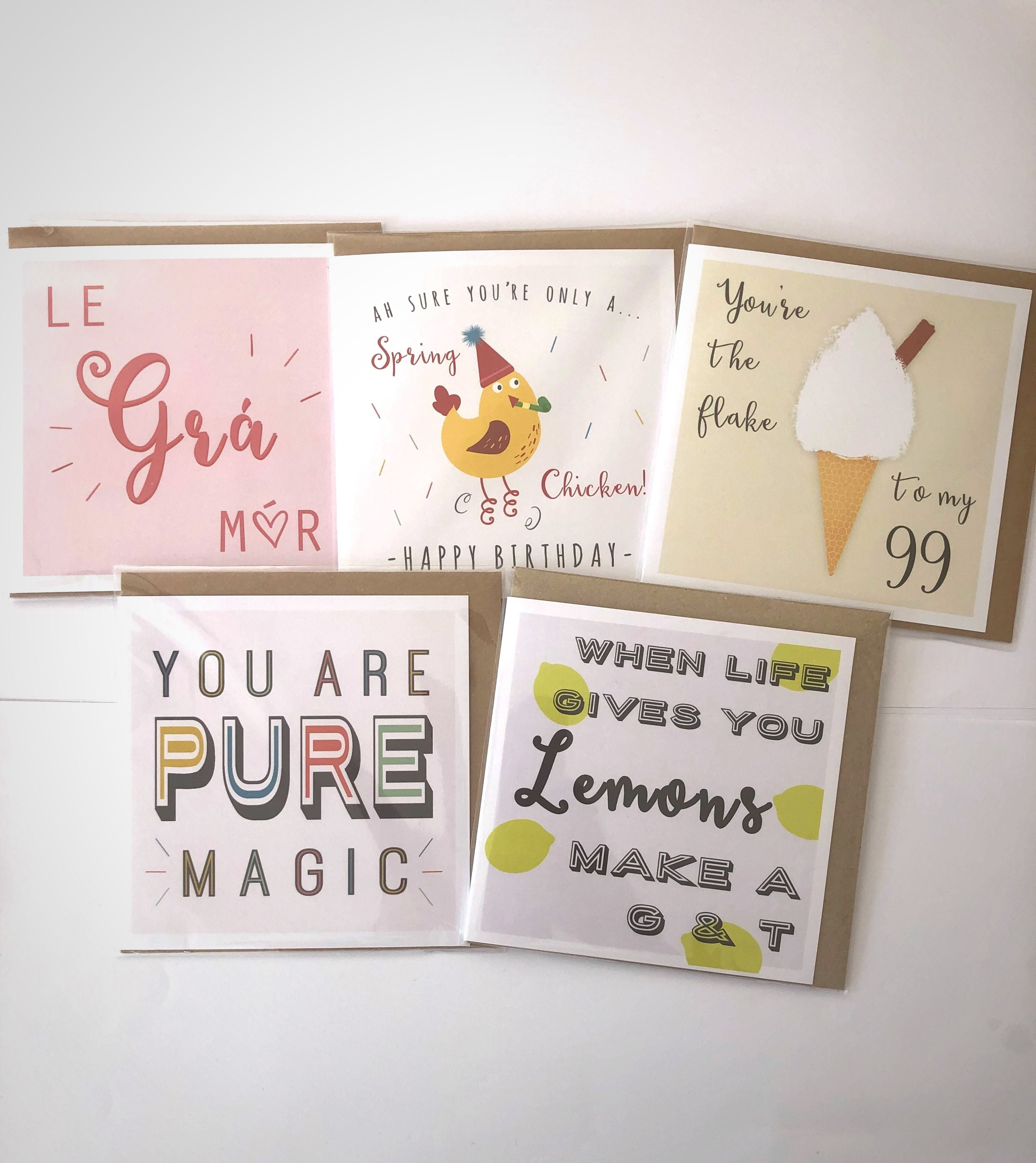 Greeting Card Pack -  LAINEYK