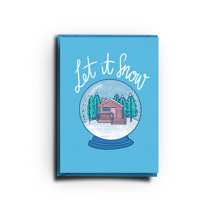 Let It Snow (Greeting Card)