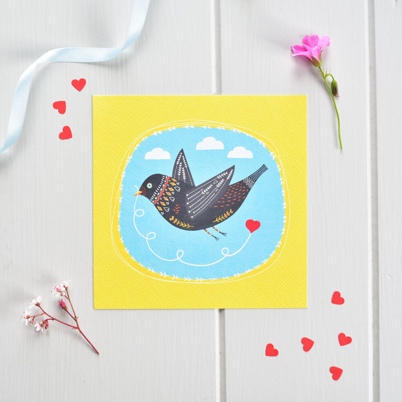 Postcard - Love Bird