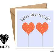 Happy Anniversary (Greeting Card) - MIMI+MARTHA