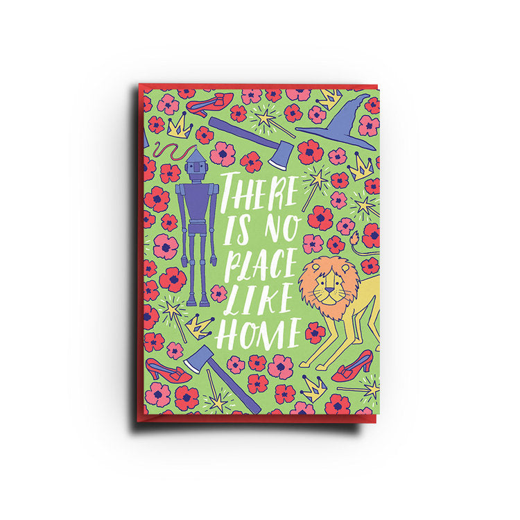 No Place Like Home (Greeting Card)