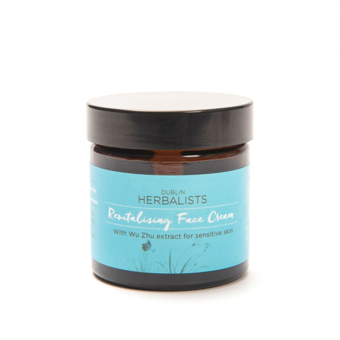 Dublin Herbalist - Revitalising Face Cream With Wu Zhu Extract for sensitive skin