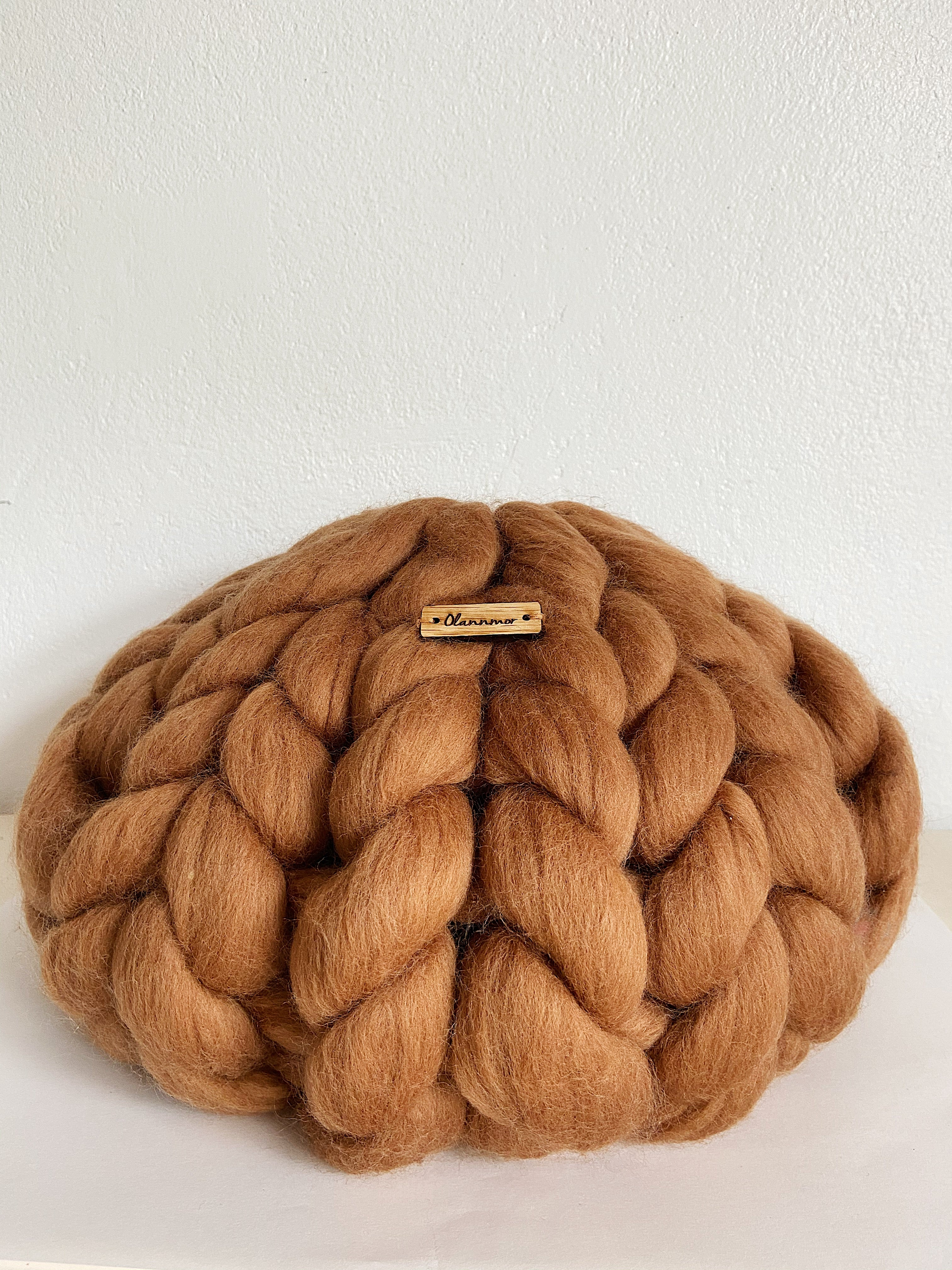 Olannmor Merino Wool Round Cushion