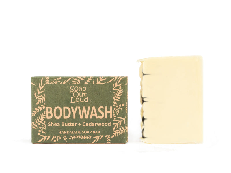 Soap Out Loud - Shea Butter + Cedarwood Soap Bar