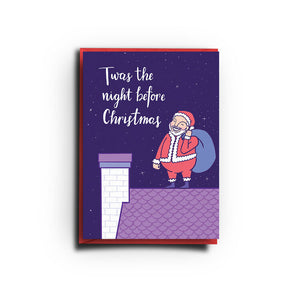 Twas the Night Before Christmas (Greeting Card)