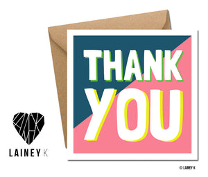 Thank You (Greeting Card)