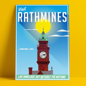 Rathmines - Wish You Were Here (A4 Print)