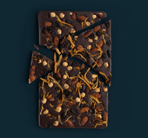 Seasonal Sharing Slab of Dark Chocolate including Hammer of Joy!