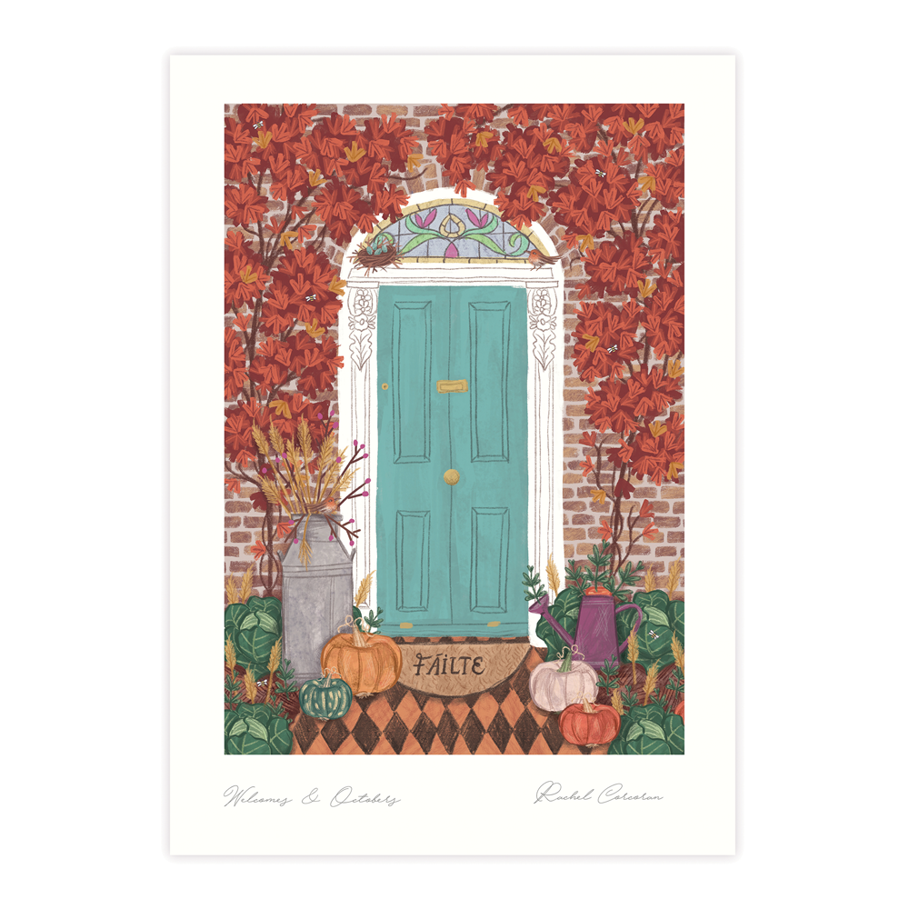 Welcomes & Octobers Autumn (Print)