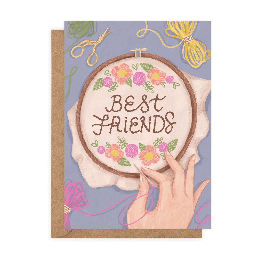 Best Friends  (Greeting Card) - MIMI+MARTHA