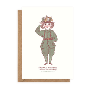 Constance Markievicz (Greeting Card)