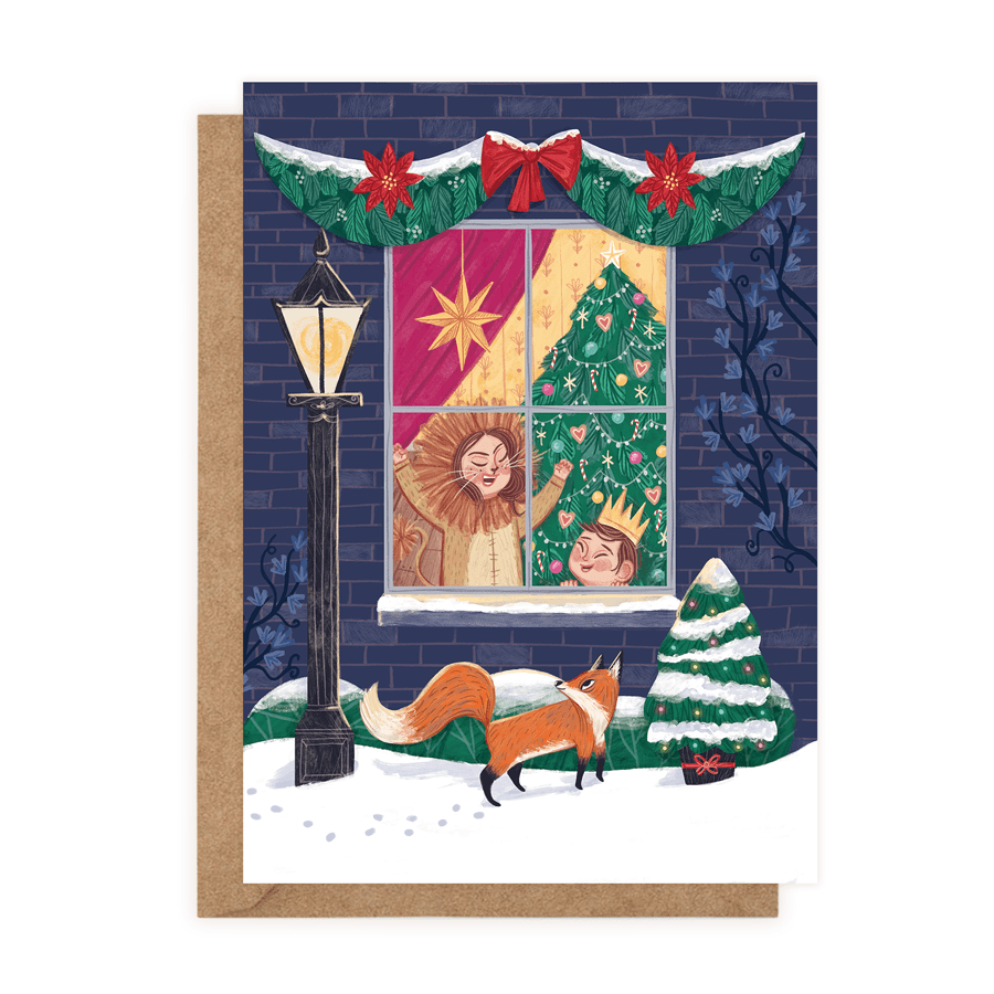 A Cosy Christmas Tale (Greeting Card) - MIMI+MARTHA