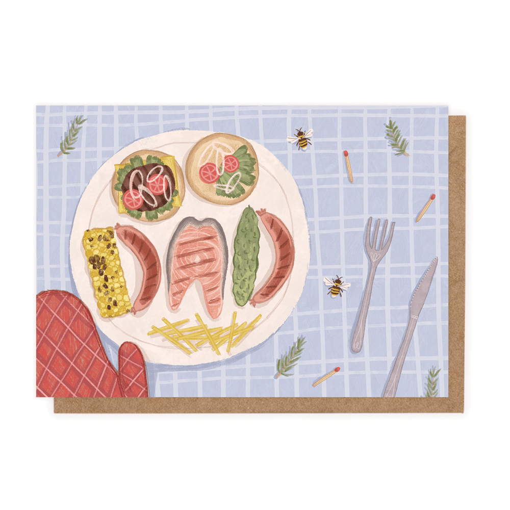 Dad BBQ (Greeting Card) - MIMI+MARTHA