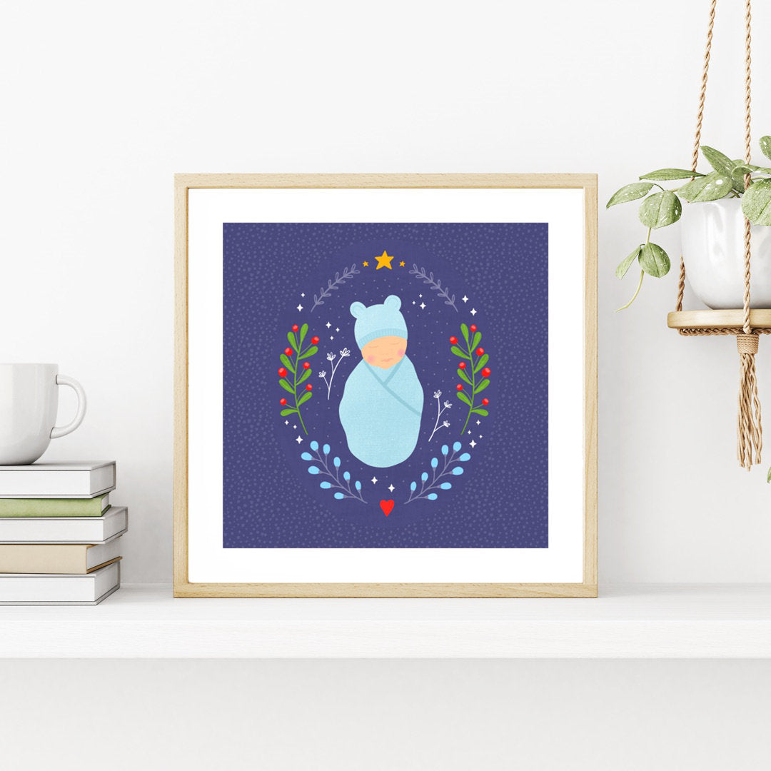 Art Print - Winter Baby