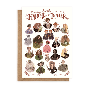 Little Harry Potter (Greeting Card)