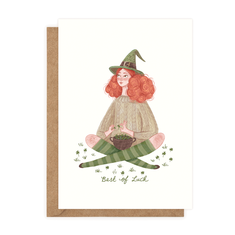 Best Of Luck (Greeting Card) - MIMI+MARTHA
