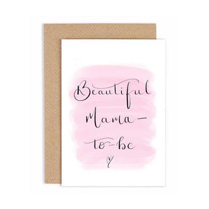 Greeting Card - Beautiful Mama-to-be