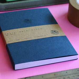 A5 Notebook - Bullet Journal (Navy) - MIMI+MARTHA