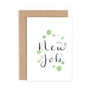 Greeting Card - New Job