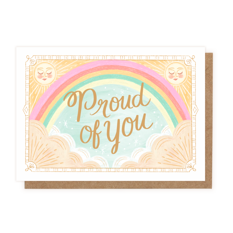 Proud of You (Greeting Card)