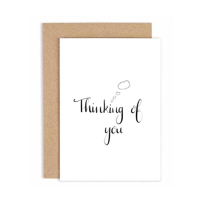 Greeting Card - Ag smaoineamh ort - Thinking of you