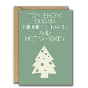 Toy Show And Dustin - Christmas (Greeting Card)