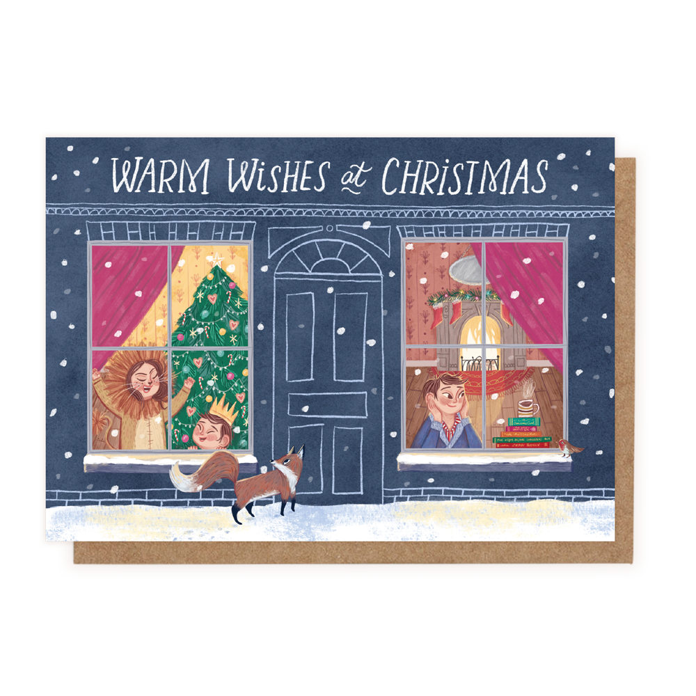 Warm Wishes At Christmas - (Greeting Card)