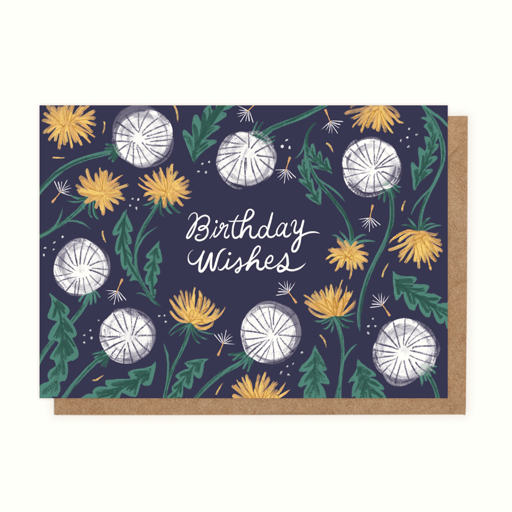 Birthday Wishes (Greeting Card) - MIMI+MARTHA