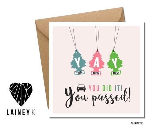 Yay You Passed! (Greeting Card) - MIMI+MARTHA